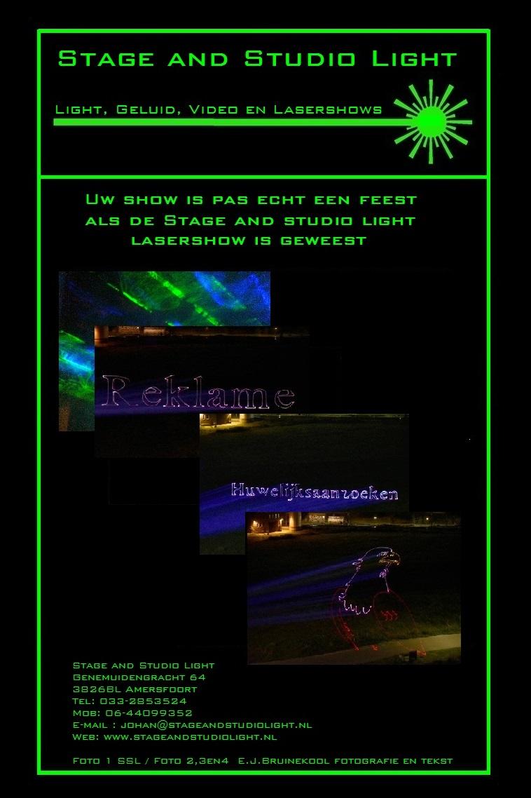 flyer laser show